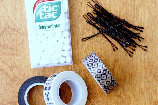 recycler une boite de tic-tac