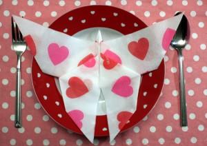 pliage serviette papillon 01
