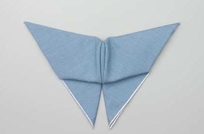 pliage serviette papillon
