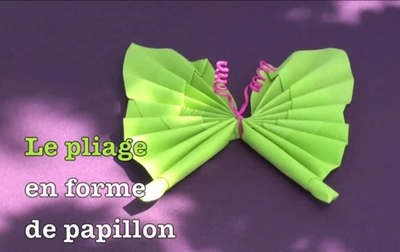 pliage serviette papillon 04