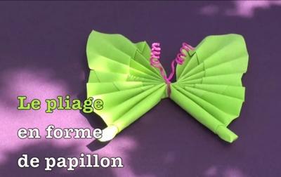 pliage serviette papillon 04