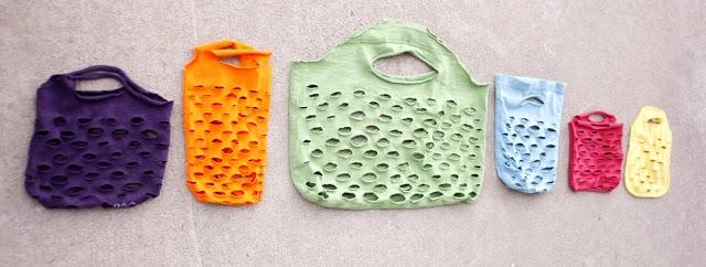 Fabriquer un sac en recyclant des vieux t-shirts