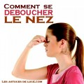 comment se deboucher le nez