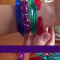 bracelet en brosse à dents tutorial